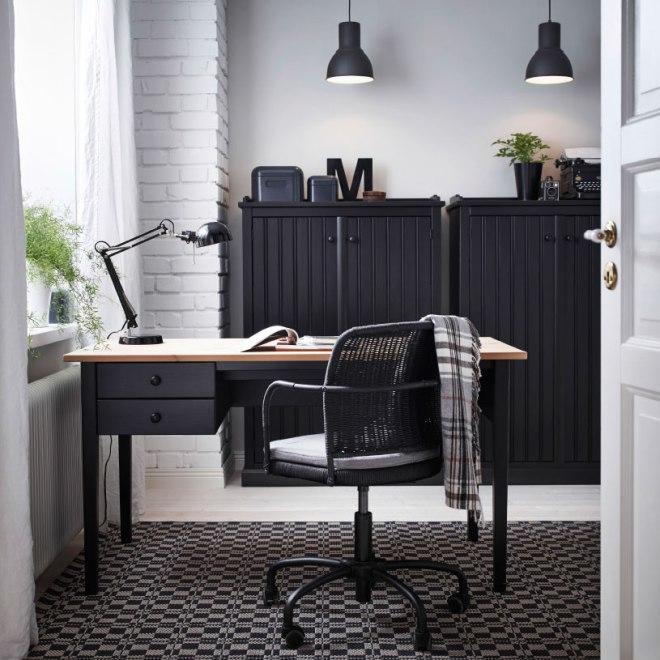 ARKELSTORP Desk, black