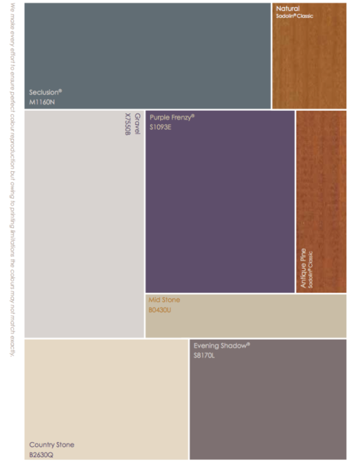 Crown Faded Stitch Exterior Colour Chart