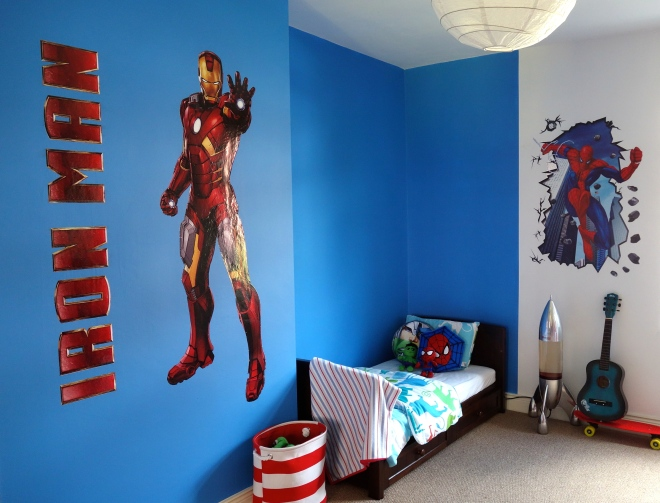Marvel bedroom