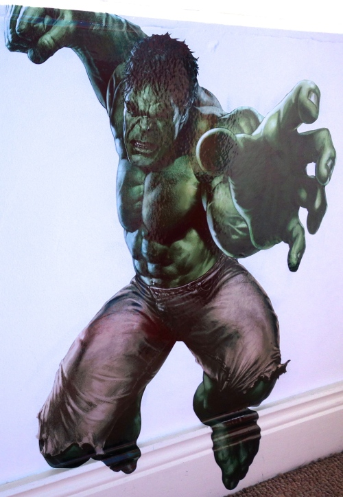 Marvel bedroom HULK