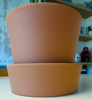 Ikea plant pot