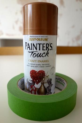 copper spray paint rustoleum