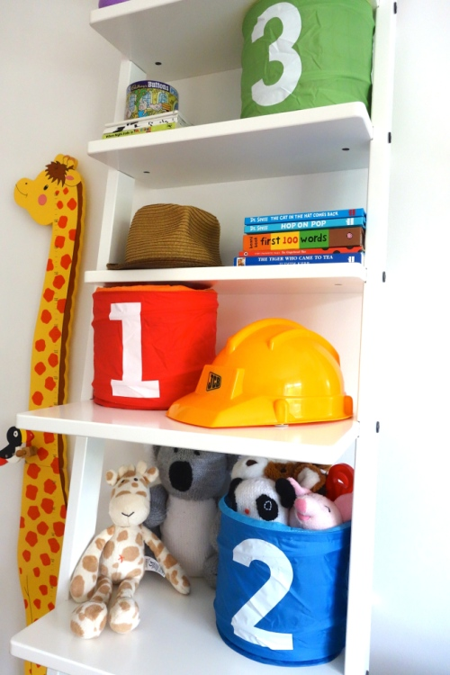 Ikea HJÄLMAREN Toy Storage
