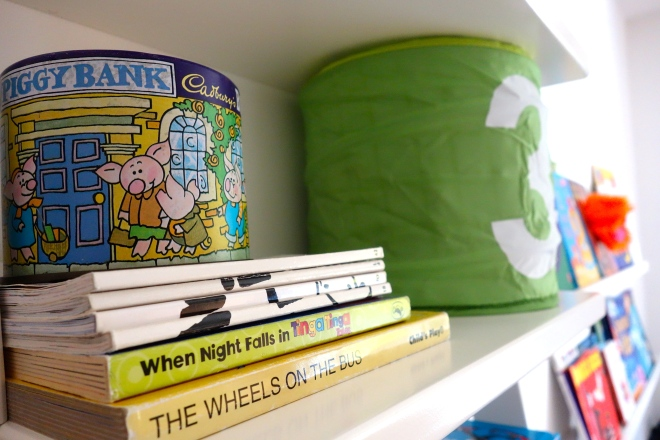 Story Books and Money Box