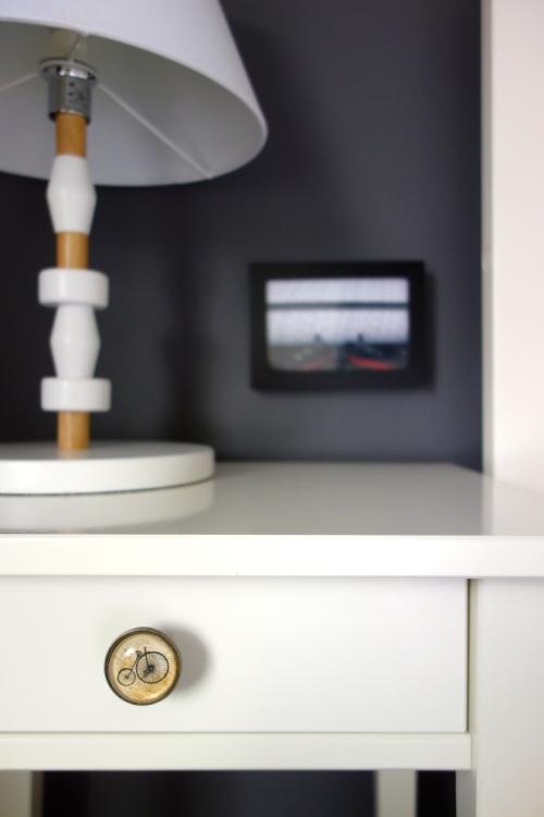 Penny Farthing drawer knob