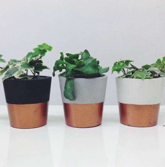 original_small-cement-pots-with-a-copper-dip