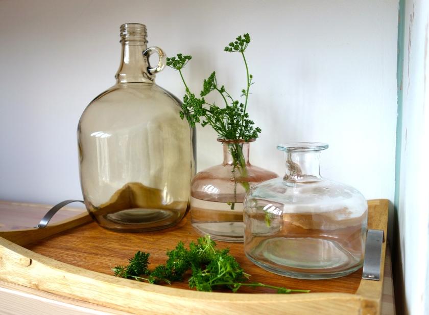 Glass vases netto