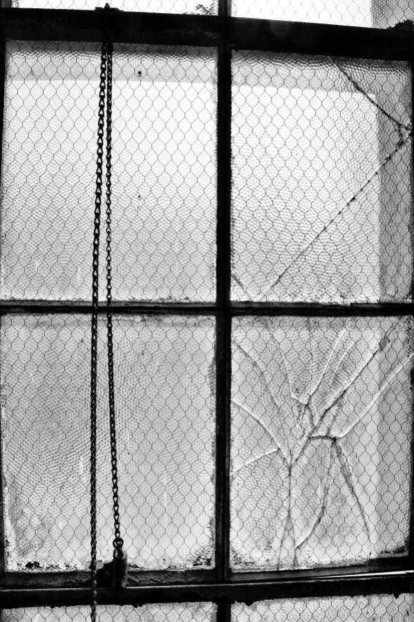 Brooklyn Army Terminal window