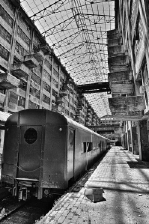 Brooklyn Army Terminal train
