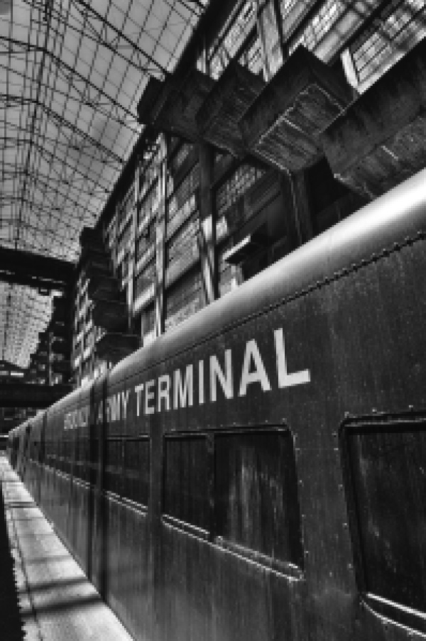 Brooklyn Army Terminal train
