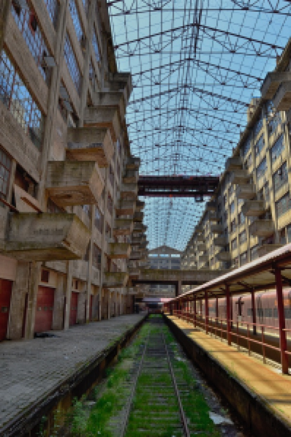 Brooklyn Army Terminal roof