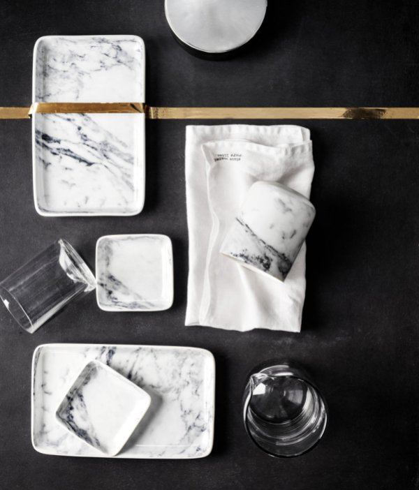 H&M Marble trays