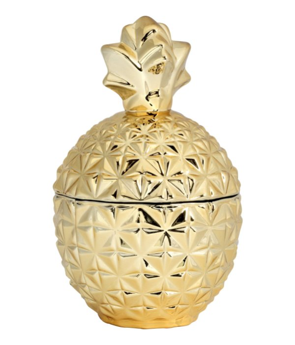 H&M gold pineapple