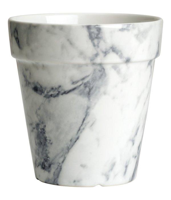 H&M Marble plant pot