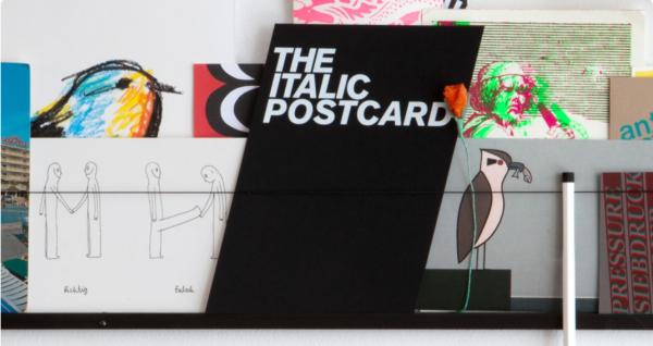 The Italic Postcard