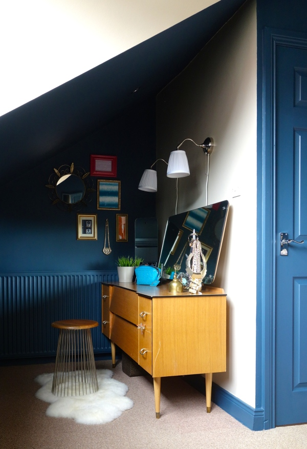 The dressing table alcove