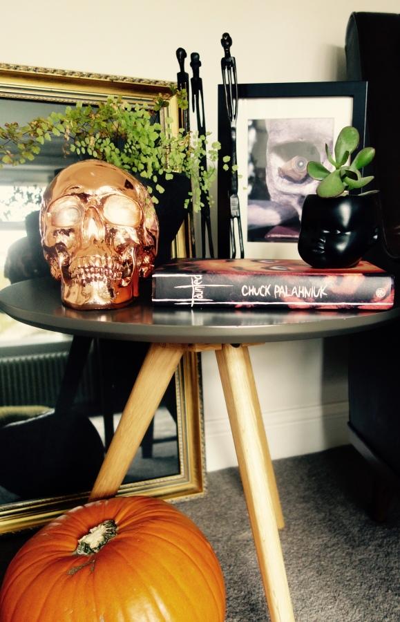 copper skull head