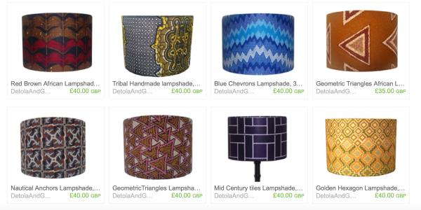 detola&geek lamp shades