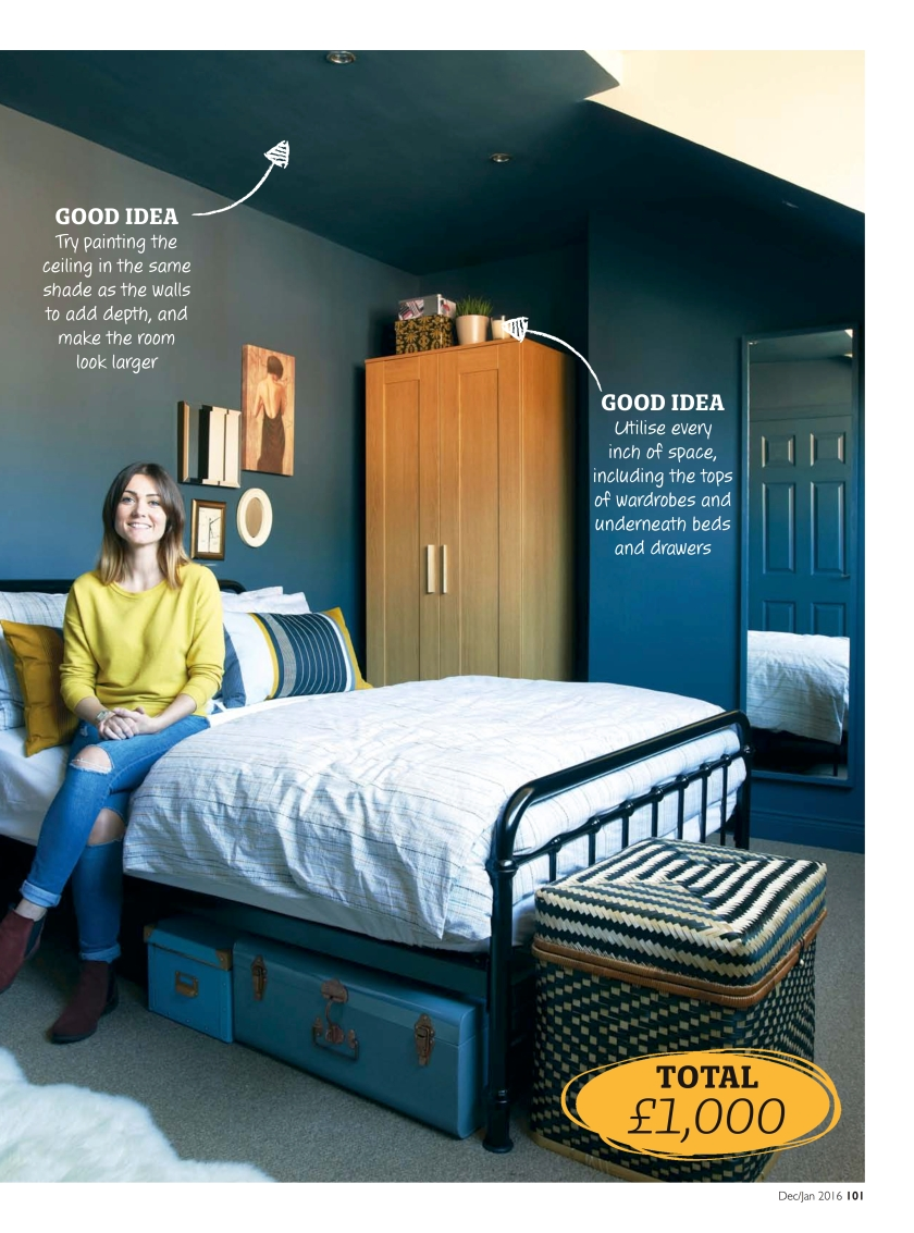 The Blue Room - Making Spaces in HomeStyle Magazine