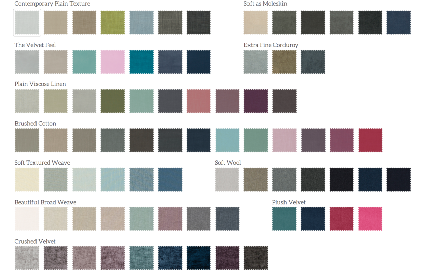 button-and-sprung-fabric-selection