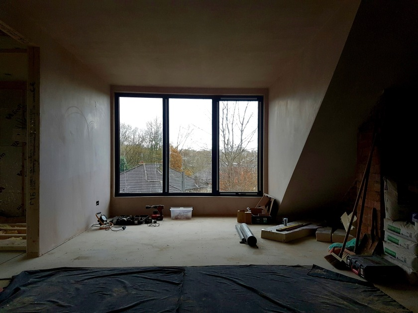 loft-bedroom-plastered