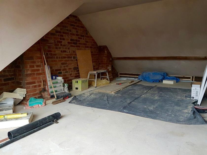 plastered-bedroom